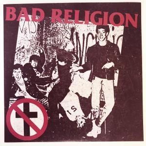 "Bad Religion - Bad Religion (Public Service Comp Tracks 1981) - 7"""