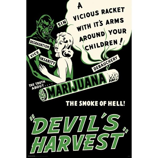 Devil's Harvest - POSTER