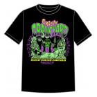 Groovy Graveyard  T-shirt - Style  B