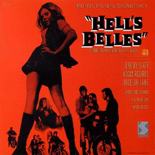 Hell's Belles - Les Baxter - Soundtrack - LP