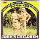 "John's Children - Come Play With Me In My Garden - 7"" color vinyl"