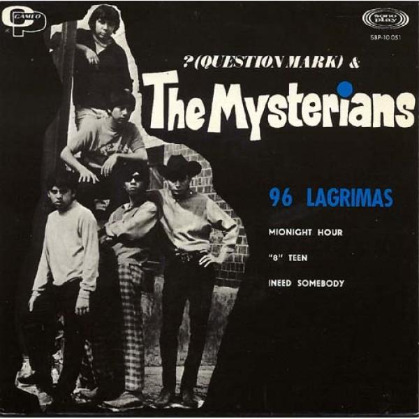 Question Mark & the Mysterians - 96 Tears - Spanish EP