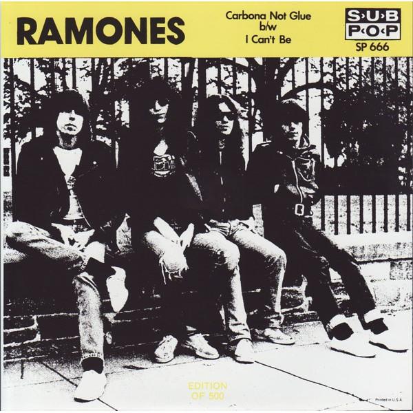 "Ramones, The - Carbona Not Glue - 7"""