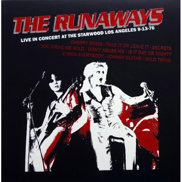 Runaways - Live At the Starwood - LP - color vinyl