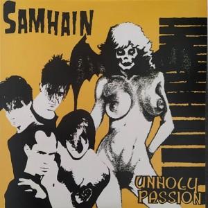 Samhain - Unholy Passion - color vinyl - EP