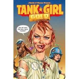 Tank Girl: Gold - trade paperback