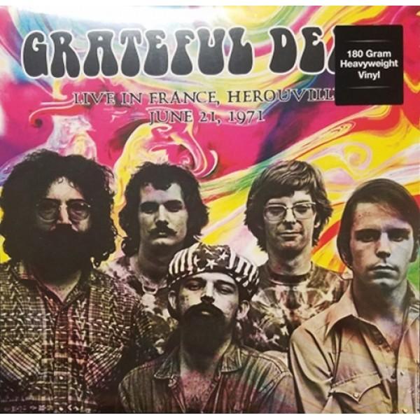 Grateful Dead, The – Live In France, Herouville  June 21,1971 - LP - 180 gram